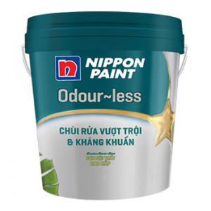 Sơn Nippon Odour-less Chùi Rửa Vượt Trội & Kháng Khuẩn