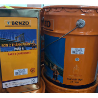 Sơn lót chống rỉ Epoxy Benzo 17.5L - Màu xám