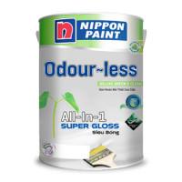 Sơn Odour-less All-in-one Siêu Bóng (Không Mùi) Trắng