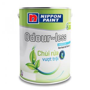 Sơn Nippon Odour-Less Chùi Rửa Vượt Trội 5L
