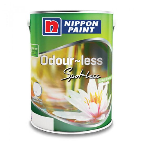 Sơn Nippon Odour-less Spot-less Trắng