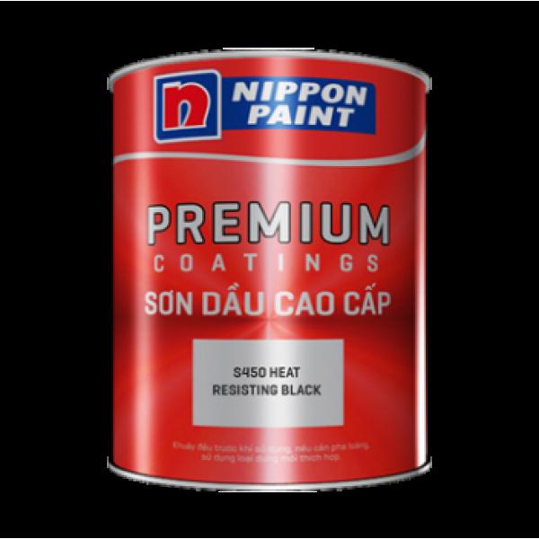 Sơn chịu nhiệt Nippon S450 Heat Resisting Black