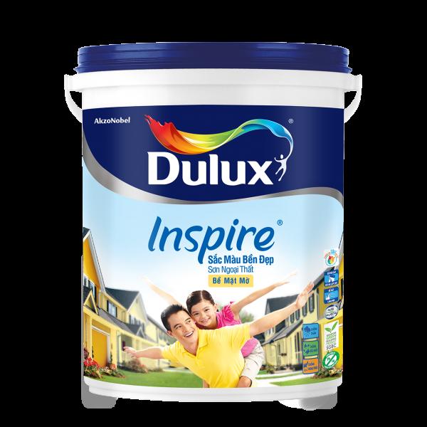 Dulux Inspire Ngoại Thất Trắng Mờ