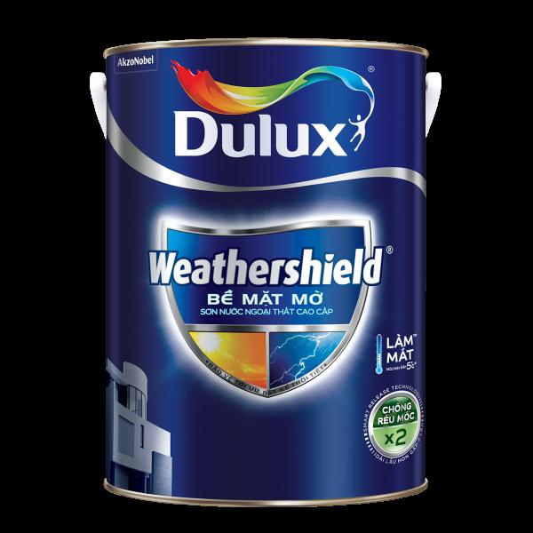 Dulux Weathershield Bề Mặt Mờ - Trắng