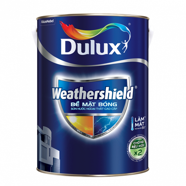 Dulux Weathershield Bề Mặt Bóng - Trắng