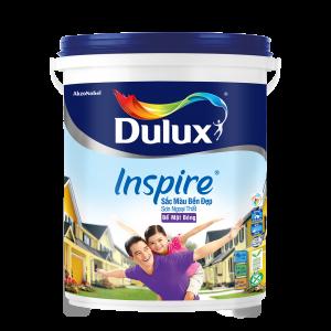 Dulux Inspire Ngoại Thất Trắng Bóng