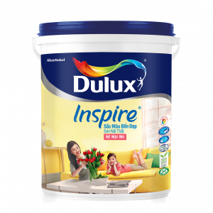 Dulux Inspire Nội Thất Trắng Mờ