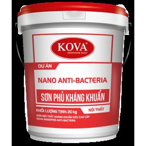 Sơn Nội Thất Kháng Khuẩn Siêu Cao Cấp KOVA Nano Anti-Bacterial