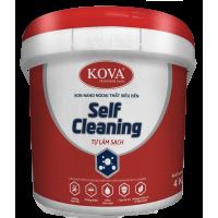 Sơn ngoại thất tự làm sạch siêu cao cấp KOVA NANO Self Cleaning Bề mặt mờ 4kg