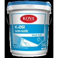 Sơn Nước Ngoại Thất KOVA K-261 25KG