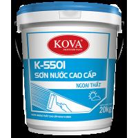 Sơn Ngoại Thất Cao Cấp KOVA K-5501 25KG