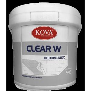 Keo Bóng Nước KOVA Clear W 4kg