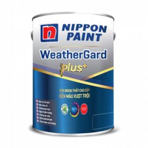 SƠN NGOẠI THẤT NIPPON WEATHERGARD PLUS+ TRẮNG 18L