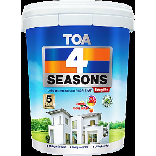 Sơn Nước Ngoại Thất TOA 4 Seasons Bóng Mờ