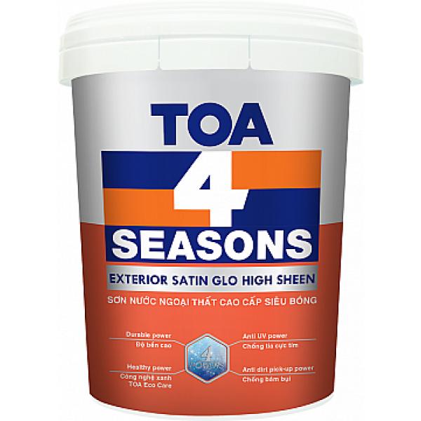 TOA 4 Seasons Exterior Satin Glo High Sheen