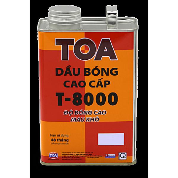 Dầu bóng cao cấp TOA T-8000