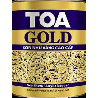 Sơn thơm nhũ vàng cao cấp TOA Gold Lacquer