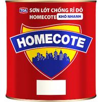 Sơn lót chống rỉ cao cấp màu đỏ Homecote