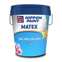 Sơn Nippon Matex Sắc Màu Dịu Mát 18L